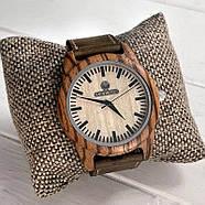 Дерев'яні наручні годинники Zebra, фото 10