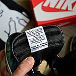 Чоловічі кросівки Nike Air Jordan 1 Retro High 1 'Tie-Dye' голубі осінь-весна. Живе фото. Репліка, фото 10