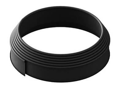 Бордюрная лента (бордюр) Кантри Лайн Б-900.10.2-ПП черная