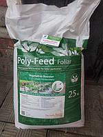 Поли-Фид (Полифид) Фолиар 21-21-21+ME / POLY-FEED Foliar - комплексное минеральное удобрение по листу , Haifa