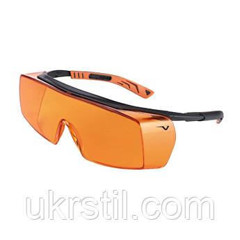 Очки защитные от излучения фотополимерных ламп 5х7 Univet