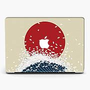 Чехол пластиковый для Apple MacBook Pro / Air Большая волна в Канагава Кацусики Хокусая Nagasaki  макбук про