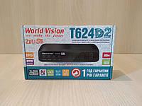 World Vision T624D2 цифровой эфирный ресивер DVB-T/Т2/C