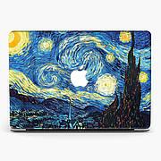 Чехол пластиковый для Apple MacBook Pro / Air Нагасаки Велика Волна и Ван Гог Звездная Ночь (Nagasaki The