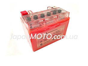 Аккумулятор 4A 12V Honda/Yamaha (YTX4L-BS) VLAND гелевый 113x70x87, фото 2
