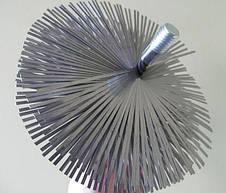 Щітка для чищення димоходу ф500 мм Люкс сталь під різьблення, фото 3
