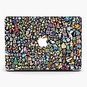 Чехол пластиковый для Apple MacBook Pro / Air Покемон Паттерн (Pokemon Pattern) макбук про case hard cover