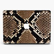 Чехол пластиковый для Apple MacBook Pro / Air Кожа змеи (Snakes leather) макбук про case hard cover