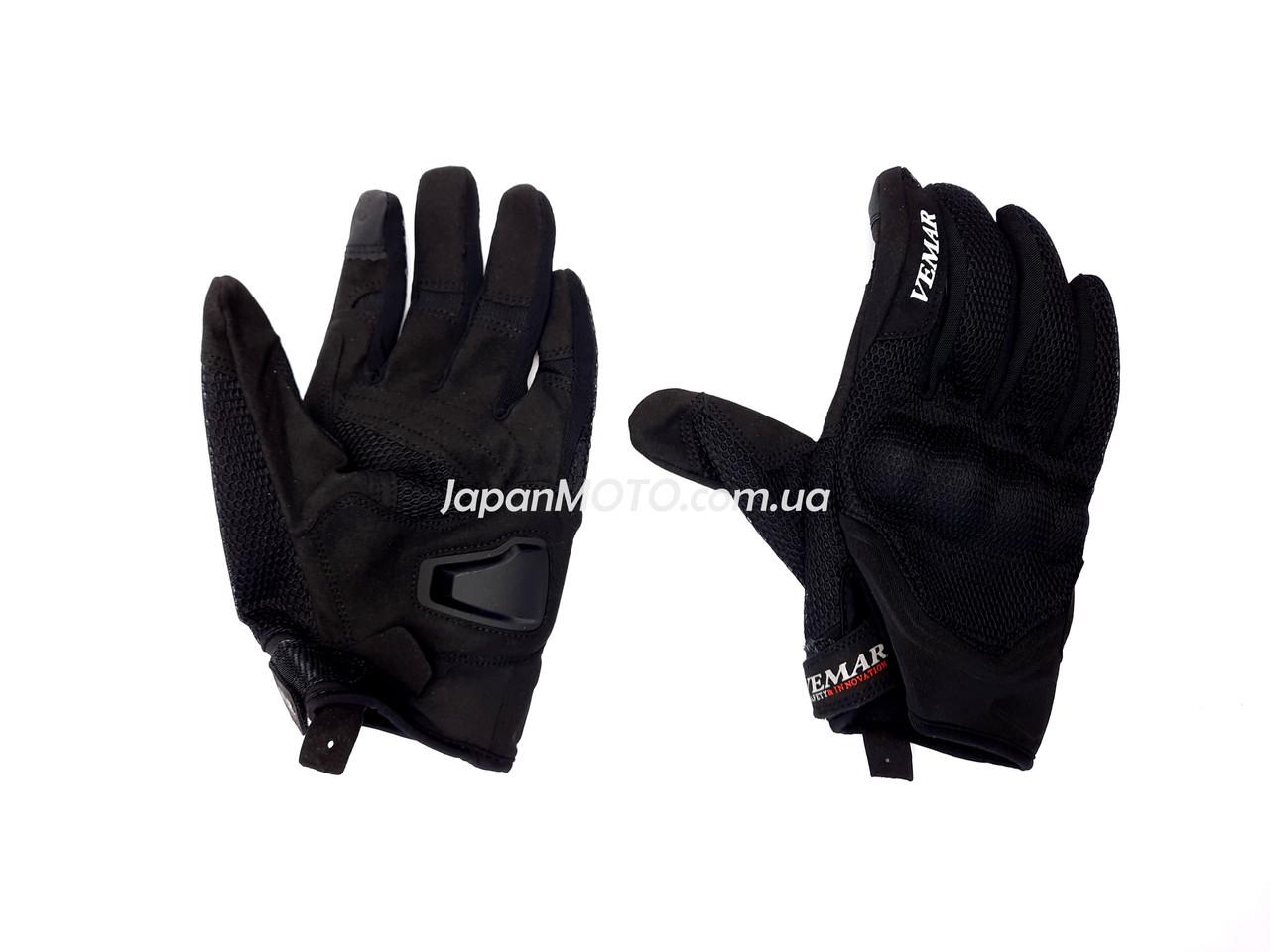 Перчатки VEMAR VE-173 сенсорный палец (size: XL, черные)