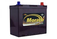 Автомобильный аккумулятор MORATTI 6ct-50a3 asia