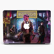 Чехол пластиковый для Apple MacBook Pro / Air Киберпанк 2077 (Cyberpunk 2077) макбук про case hard cover