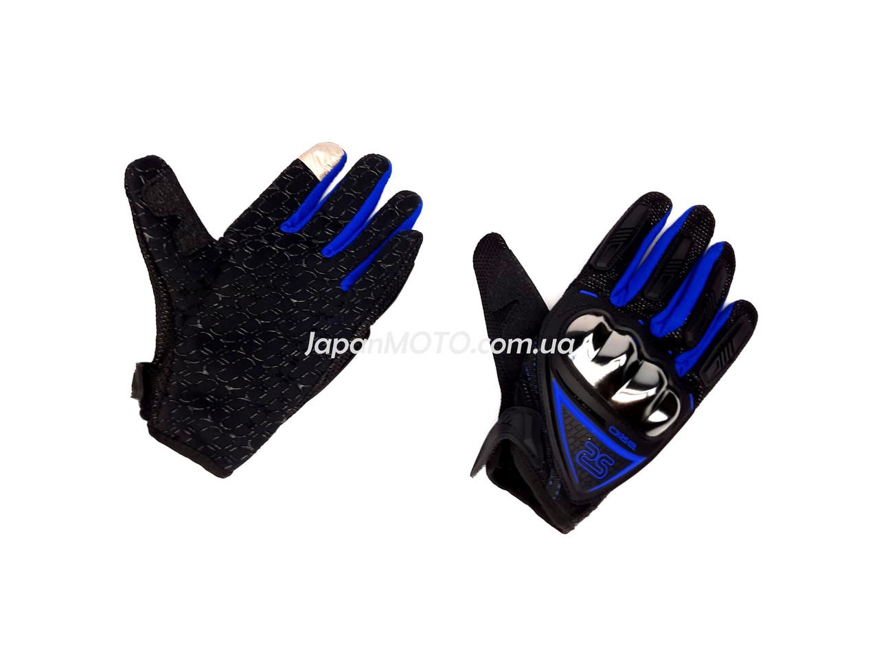 Перчатки AXIO AX-01 сенсорный палец (size: M, синие)