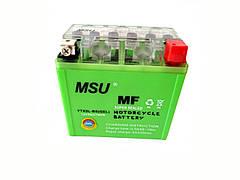 Аккумулятор 5A 12V (YTX5L-BS) MSU гелевый 115x70x105