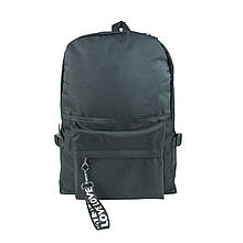 Рюкзак міський чорний унісекс