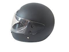 Шлем закрытый HF-101 (size: S, черный матовый)