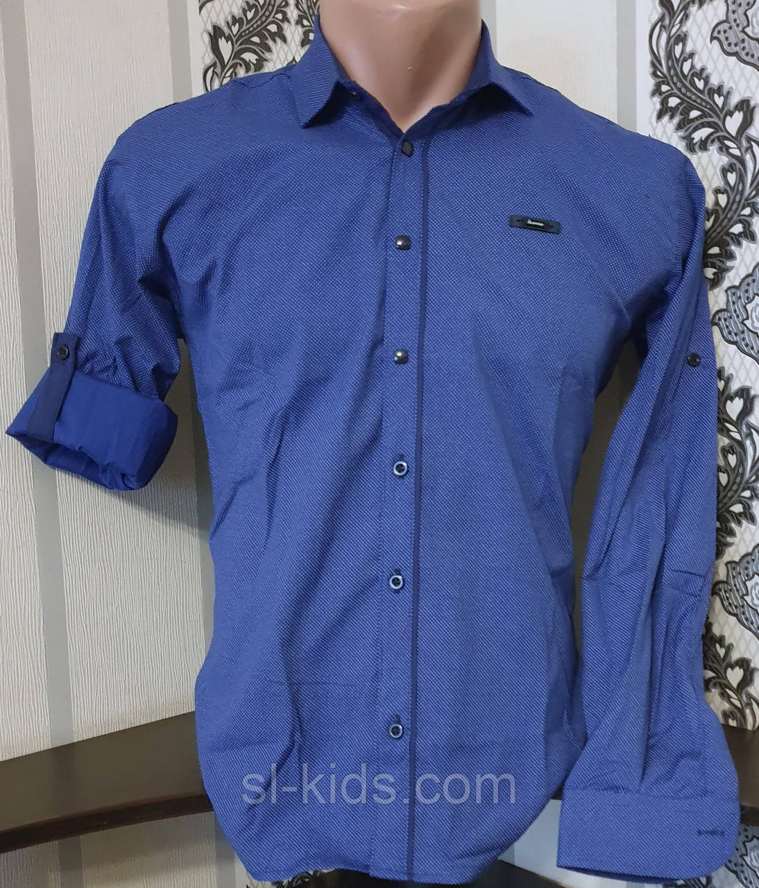 Стрейчева сорочка IKORAS для хлопчика 7-12 років (розд) (пр. Туреччина)