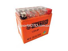 Аккумулятор 5A 12V (YTX5L-BS) VLAND гелевый 113x70x107