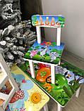"""Комплект стіл і стілець дитячий """"Зоопарк"""", фото 5"""
