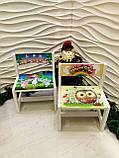 """Комплект стіл і стілець дитячий """"Зоопарк"""", фото 7"""