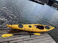 Каяк морской морские каяки SeaBird Expedition Afjord Pro желтый