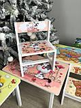"""Комплект стіл, 1 стілець дитячий """"Кіт і собака"""", фото 7"""