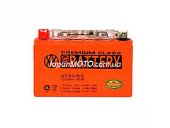 Аккумулятор 9A 12V (YTX9-BS) гелевый 150x87x107 VLAND