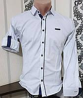 Стрейчевая рубашка IKORAS для мальчика 11-16 лет (розн) (пр. Турция)