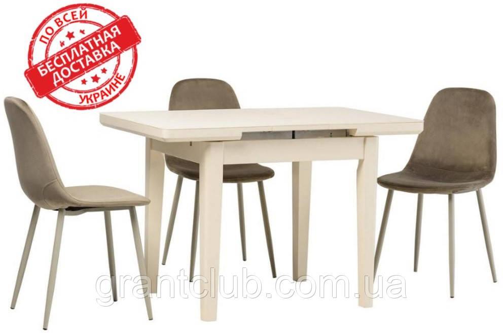 Стол TM-79 белый 90/115х70 (бесплатная доставка)
