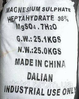 Сульфат магния (магний сернокислый) Китай мешок 25 кг