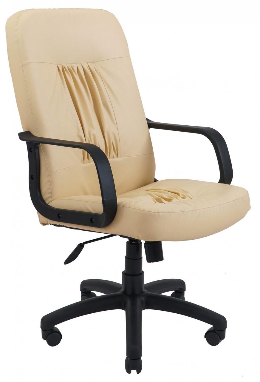 Офисное Кресло Руководителя Nice Fly 2207 ПлаStick М3 MultiBlock Бежевое