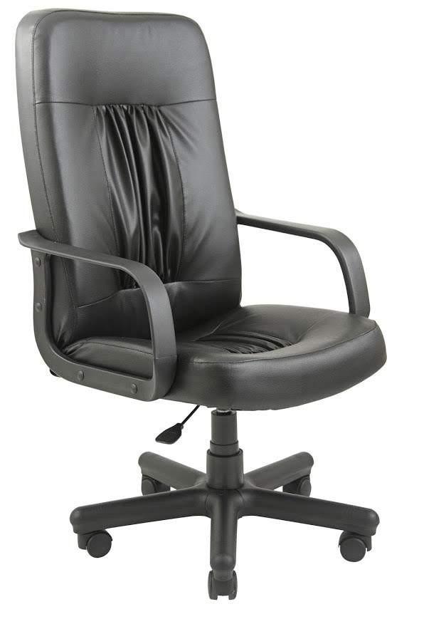 Офісне Крісло Керівника Richman Ніцца Флай 2230 Пластик М2 AnyFix Чорне