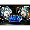Автомобільні годинник з термометром і вольтметром VST 7009V, фото 8