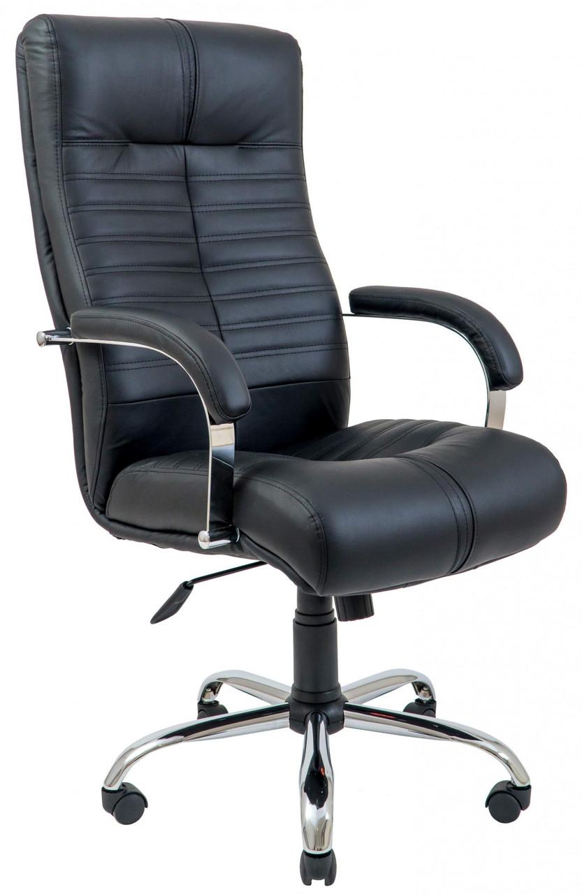 Офисное Кресло Руководителя Orion Fly 2230 Хром М3 MultiBlock Черное