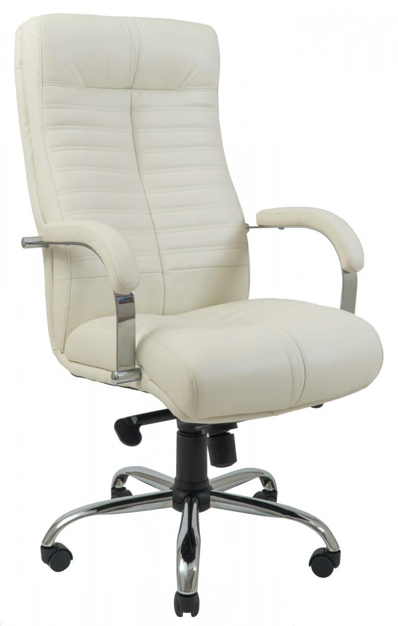 Офисное Кресло Руководителя Orion Fly 2200 Хром М2 AnyFix Белое