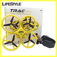 Квадрокоптер дрон TRACKER с сенсорным управлением