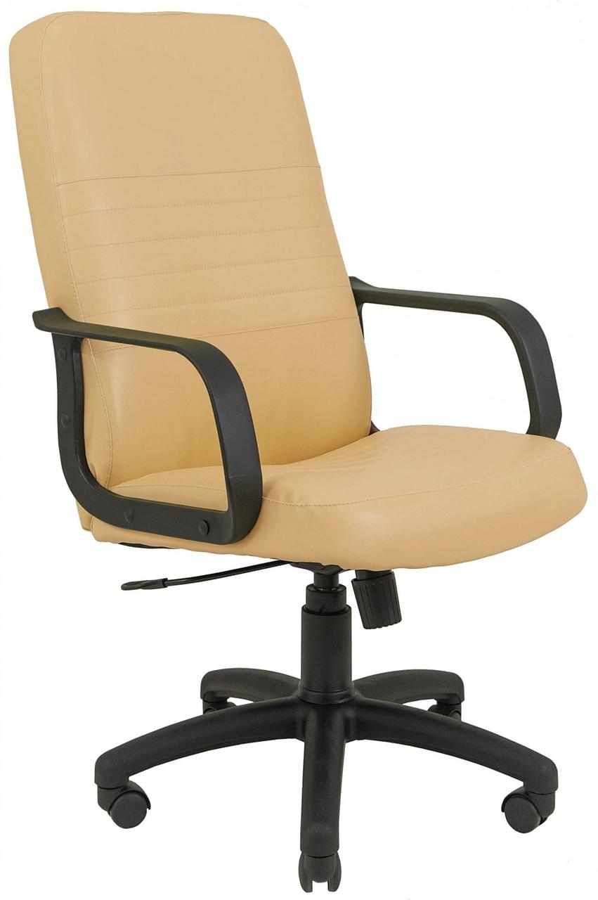 Офисное Кресло Руководителя Prius Fly 2201 ПлаStick М2 AnyFix Бежевое