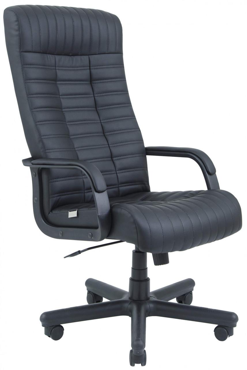 Офисное Кресло Руководителя Provence Fly 2230 ПлаStick Рич М2 AnyFix Черное