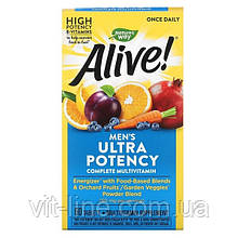 Мультивитамины для мужчин 60 таблеток Nature's Way, Alive!