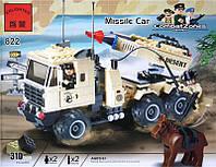 Конструктор brick 822 (872396) Ракетная машина 310 деталей