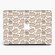 Чехол пластиковый для Apple MacBook Pro / Air  Пушин Кот (Pusheen Cat) макбук про case hard cover