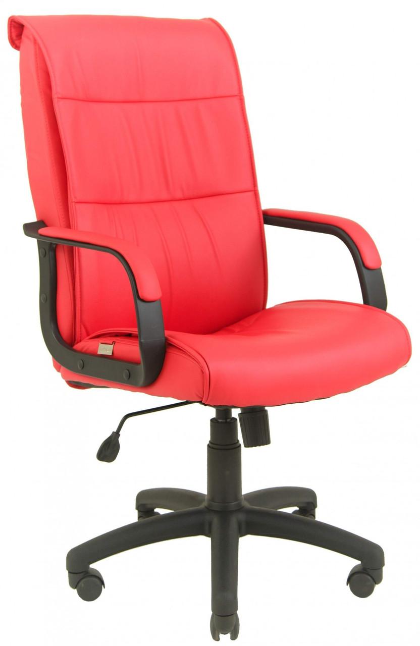 Офисное Кресло Руководителя Rio Fly 2210 ПлаStick Рич М3 MultiBlock Краное