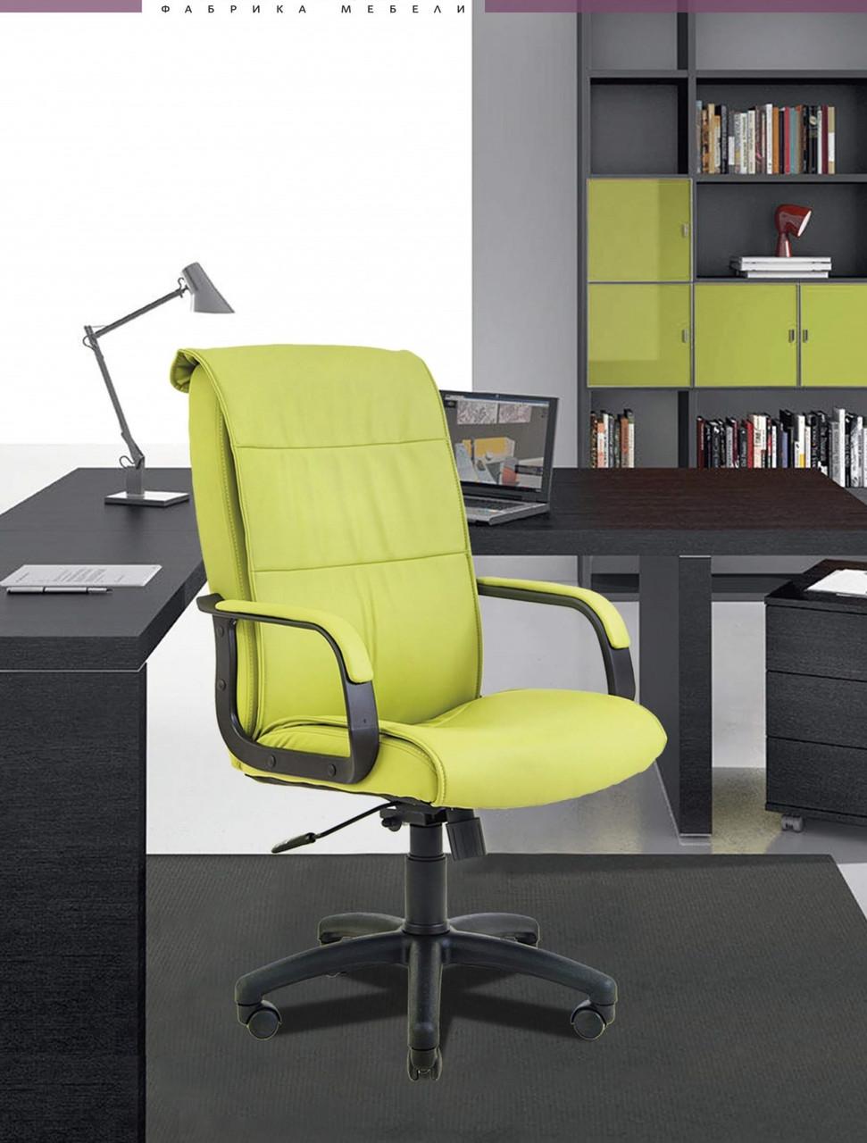 Офісне Крісло Керівника Richman Ріо Флай 2234 Пластик Річ М2 AnyFix Зелене
