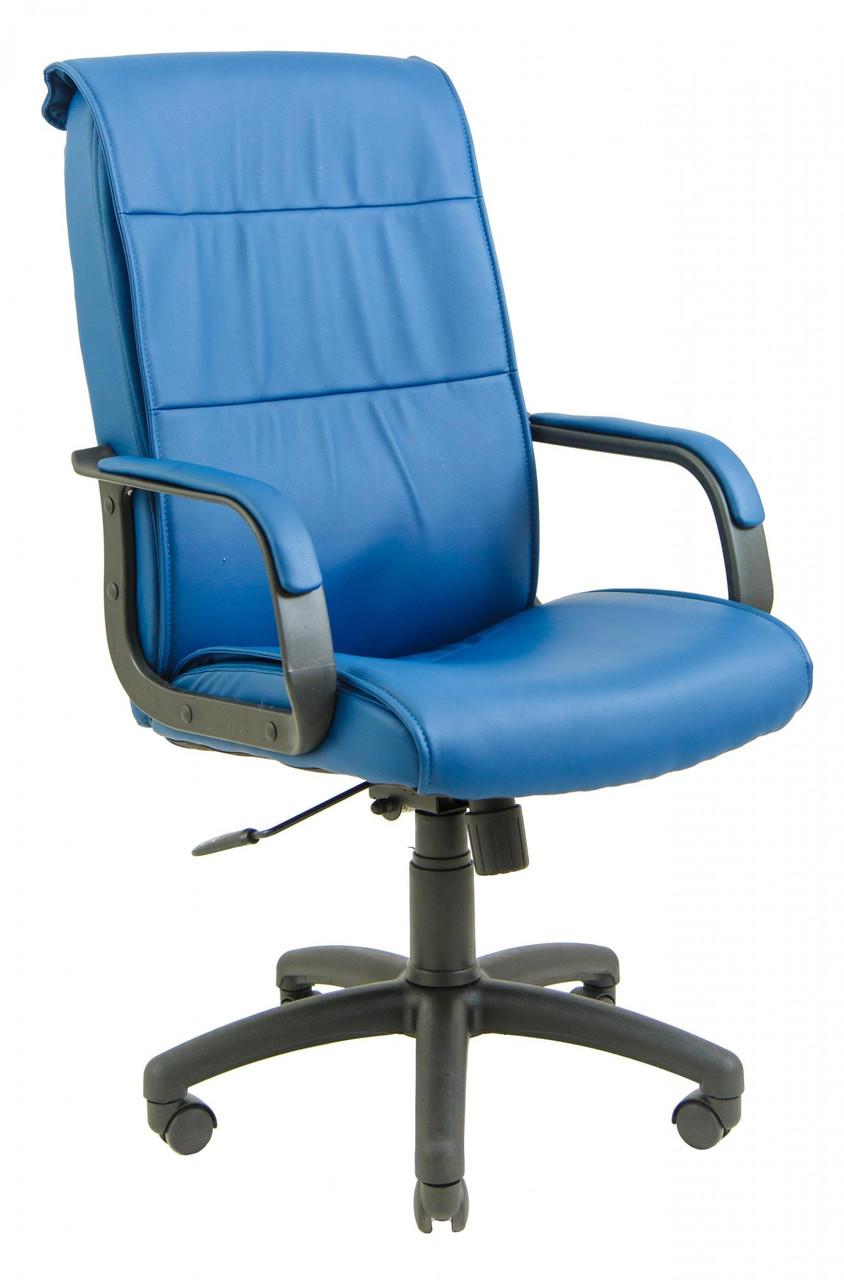 Офисное Кресло Руководителя Rio Fly 2227 ПлаStick Рич М1 Tilt Синее
