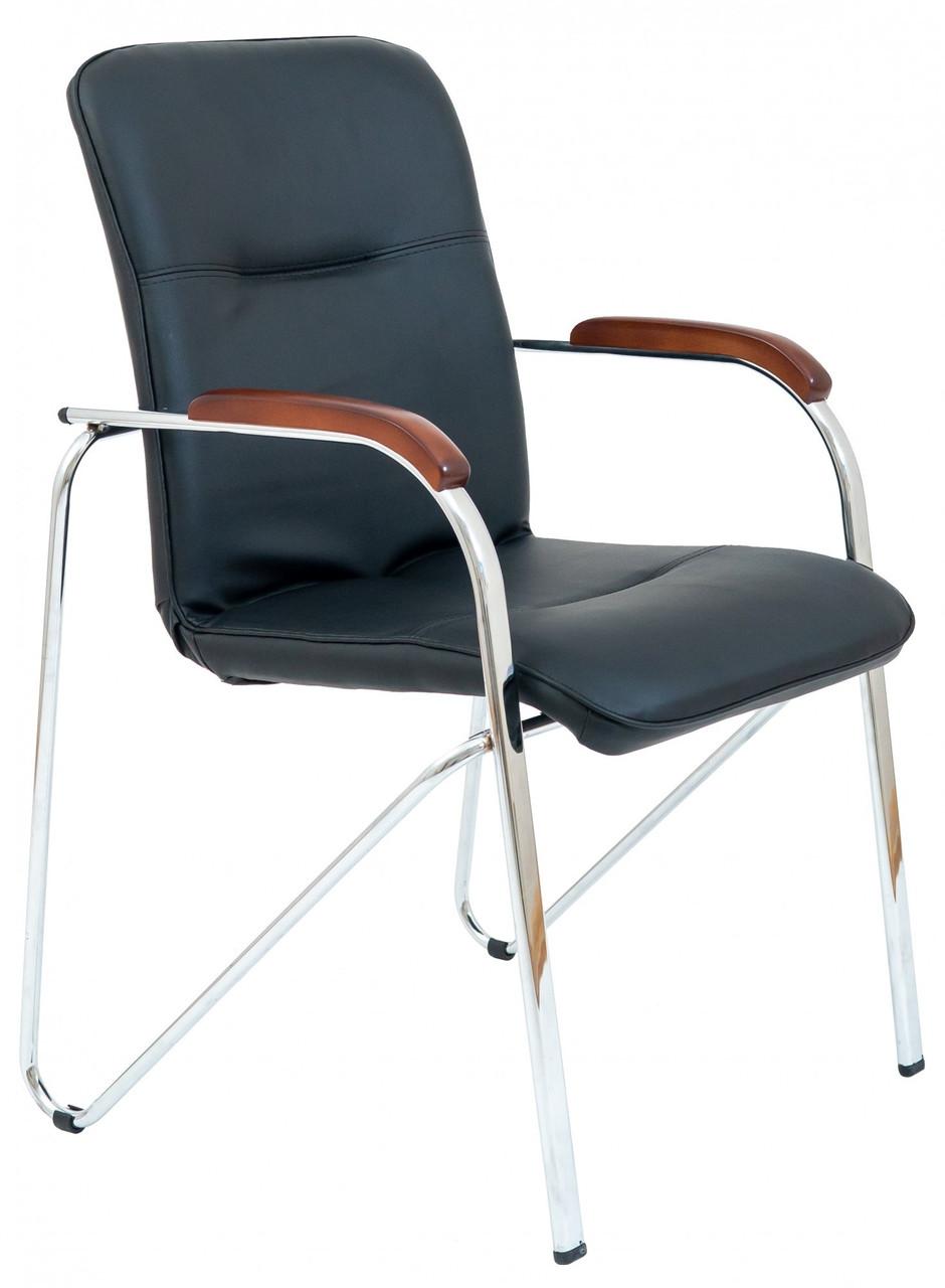 Офисное Конференционное Кресло Samba Fly 2230 CF Хром Черное