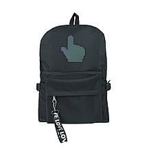 Рюкзак міський чорний курсор унісекс