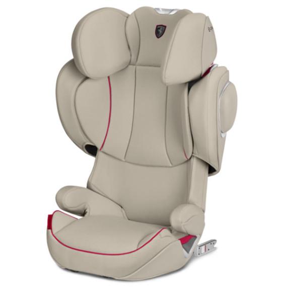 Автокресло Cybex Solution Z-fix Ferrari / Silver Grey light grey