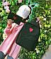 Женский рюкзак портфель + кошелек, фото 10