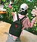 Женский рюкзак портфель + кошелек, фото 8