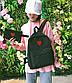 Женский рюкзак портфель + кошелек, фото 7