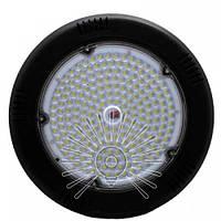 LED Світильник IP44 200W 18000LM 6500K чорний D=350 Lemanso